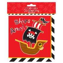 Pirate Party Pack of 20 Napkins