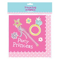 Princess Party Pack of 20 Napkins