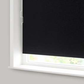 Black Sparkle Blackout Cordless Roller Blind