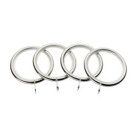 Hotel Mirage Pack of 4 Curtain Rings