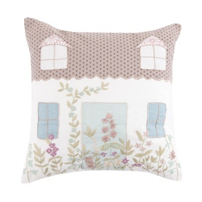 Cottage Home Cushion Cover