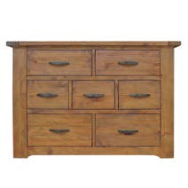 Loxley Pine 7 Drawer Chest