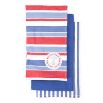 Hamptons Pack of 3 Tea Towels