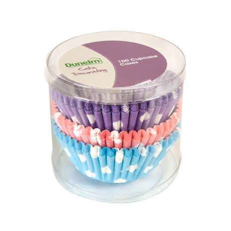 Polka Dot Cupcake Cases In a Tube