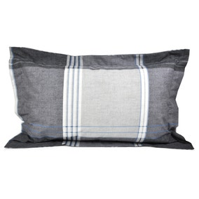 Taylor Blue Oxford Pillowcase