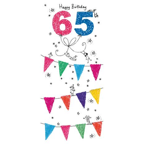 Age 65 Birthday Card