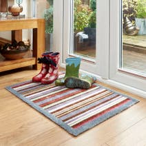 Marvel Striped Washable Mat