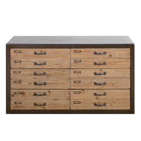 Spitalfields Wide 6 Drawer Chest