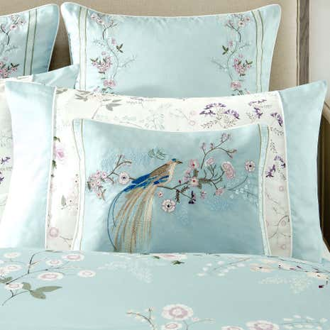 Dorma Maiya Duck Egg Boudoir Cushion
