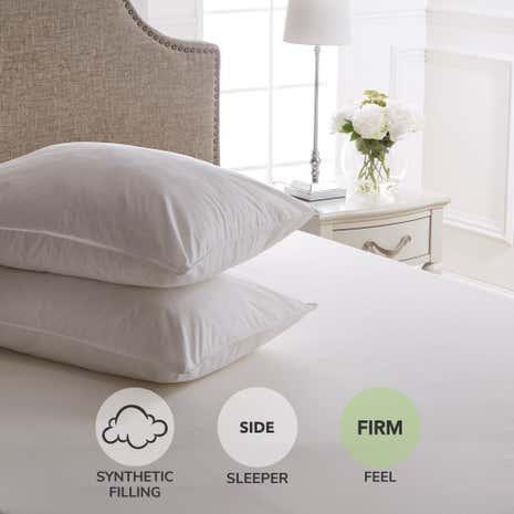 Dorma Full Forever Anti Allergy Firm Support Pillow Pair
