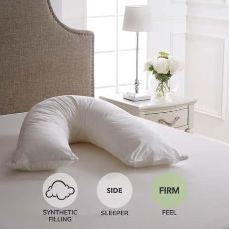Dorma Full Forever V Shaped Firm Support Pillow Dunelm