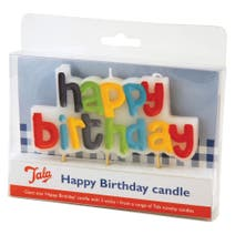 Tala Happy Birthday 3 Wick Candle