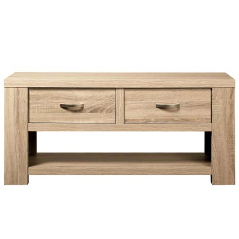 York Oak TV Stand