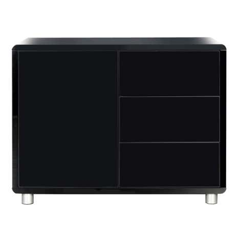 Soho Black Gloss Sideboard