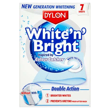 Dylon White 'n' Bright 7 Wash Sheets