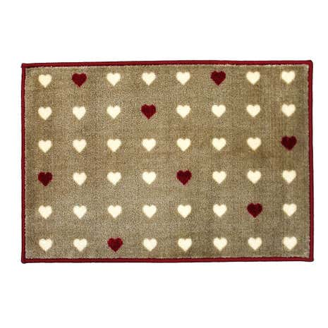 Heart Indoor Washable Doormat