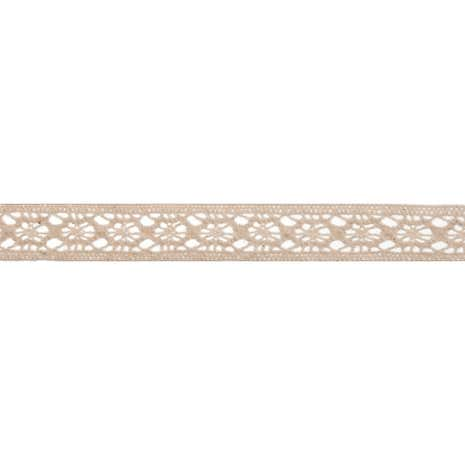 Bowtique Cream Cotton Lace Band Ribbon
