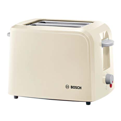 Bosch Village TWK7603GB Cream 2 Slice Toaster