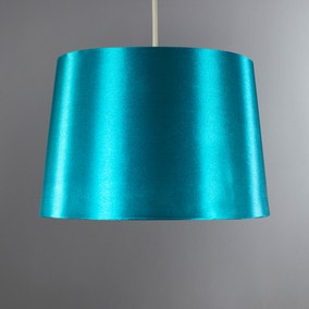 Ruby Gloss Teal Drum Shade