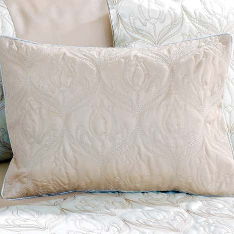 Lalique Champagne Boudoir Cushion