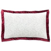 Red Country Rose Pillow Sham
