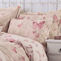 Blush Botanica Butterfly Housewife Pillowcase