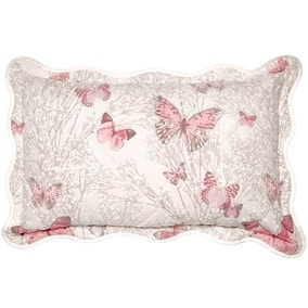 Botanica Butterfly Blush Pillow Sham