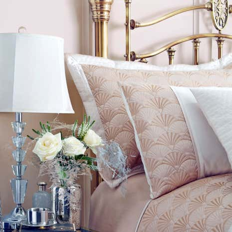 Gatsby Gold Pillow Sham