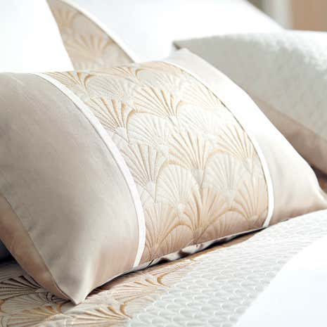 Gatsby Gold Boudoir Cushion
