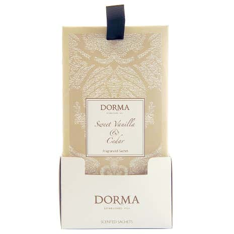 Dorma Sweet Vanilla and Cedar Scented Sachet