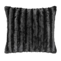 Black Plush Cushion