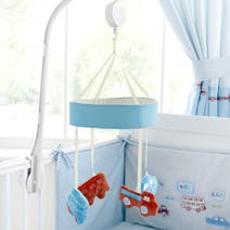 All Aboard Nursery Cot Mobile