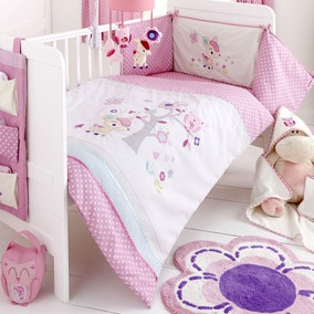 Darling Deer Nursery Cot Duvet Cover and Pillowcase Set