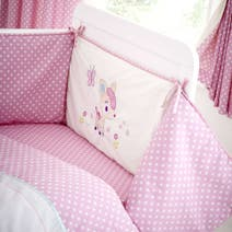 Darling Deer Nursery Coverlet and Bumper