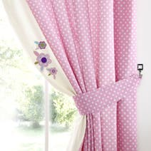 Darling Deer Nursery Blackout Pencil Pleat Curtains