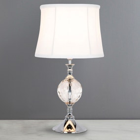 Lara Crystal Ball Table Lamp