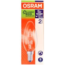 Osram Halogen Eco 46 Watt Candle Bulb