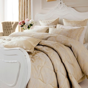 Dorma Clara Cream Duvet Cover