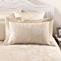 Dorma Clara Cream Oxford Pillowcase