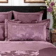 Dorma Plum Jasmina Oxford Pillowcase
