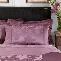 Dorma Plum Jasmina Cuffed Pillowcase