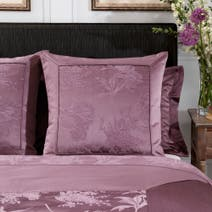 Dorma Plum Jasmina Continental Pillowcase
