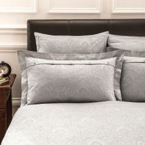 Dorma Paisley Natural Oxford Pillowcase