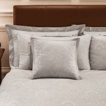 Dorma Paisley Natural Cuffed Pillowcase