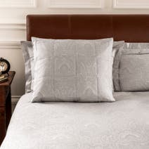 Dorma Paisley Natural Continental Pillowcase
