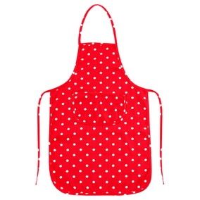 Red Dotty Apron