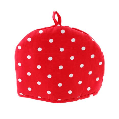 Red Dotty Tea Cosy