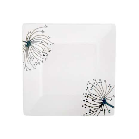 Square Sprig Side Plate