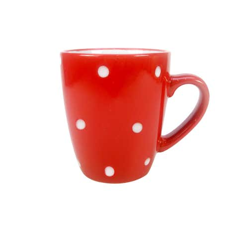 Farmstead Mug Red with White Dots