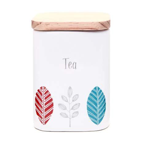 cosy skandi tea canister dunelm. Black Bedroom Furniture Sets. Home Design Ideas